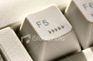 Tecla F5 - Atualizar a página